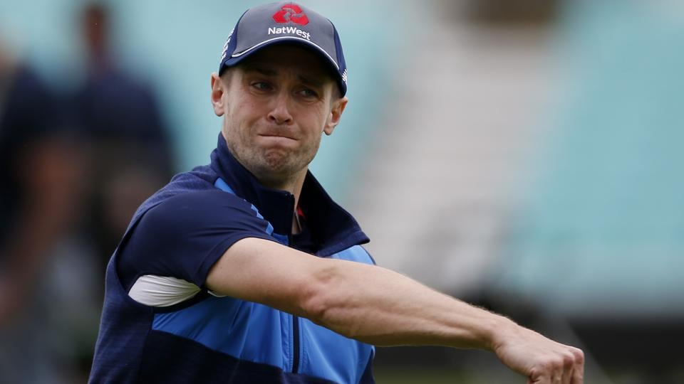 Chris Woakes picked up an injury during England's ICCChampions Trophy match against Bangladesh.