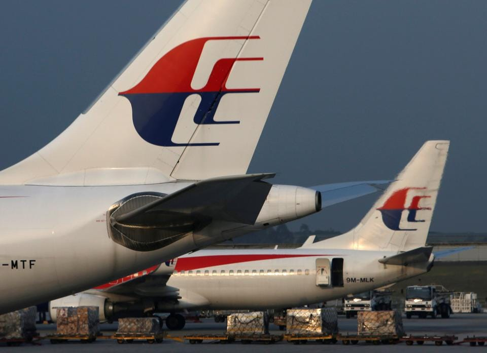 The Malaysia Airlines flight was forced to return to Melbourne after the bomb threat.