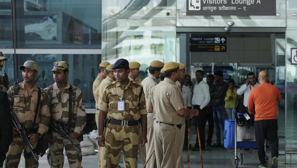 CISF,airport,security