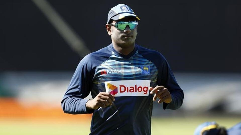 Sri Lanka skipper Angelo Matthews will miss their ICC Champions Trophy opener against South Africa.