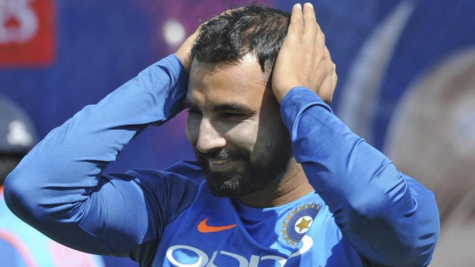 Mohammed Shami will be a key member of the Indian bowling attack when they face Pakistan. (AP)