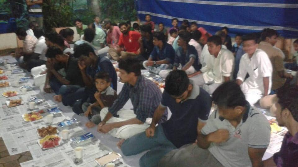 At least 500 people attended the Iftar party organised by a temple in Malappuram district in Kerala.