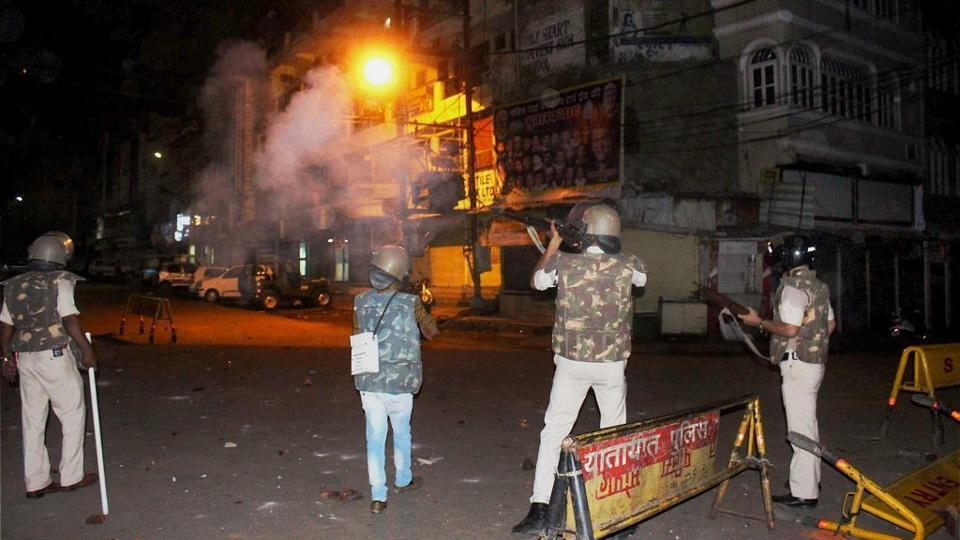 Members of two communities had clashed and pelted stones at each other in Old City area here on May 30, leaving some persons, including policemen, injured.