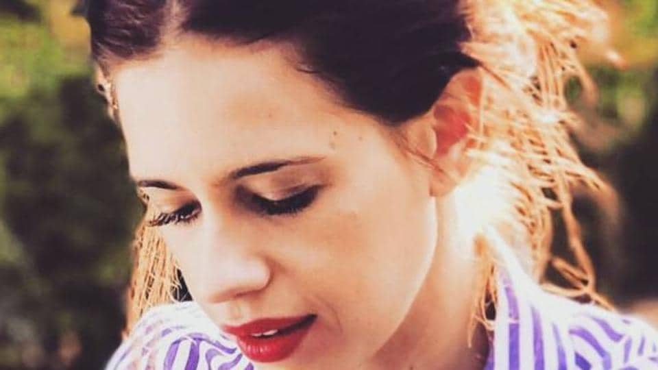Actor Kalki Koechlin says in case she gets trolled for a post on social media, she doesn't bother to read the comments.