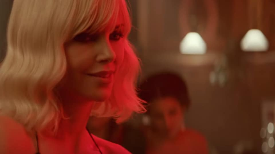 Atomic Blonde will begin its international rollout in July.