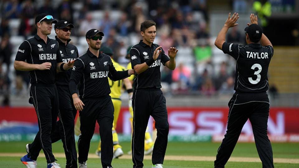 Chasing a revised target of 235 in 33 overs because of further rain in the innings break, Australia got off to a worst possible start as they lost David Warner cheaply.  (Getty Images)