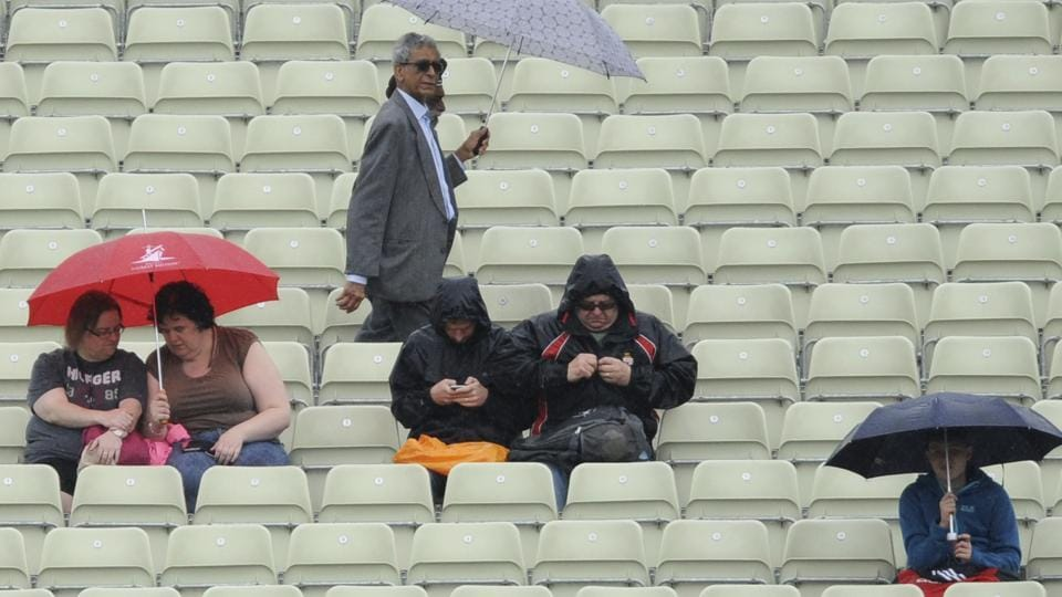 Fans during the New Zealand vs Australia ICC Champions Trophy at Edgbaston in Birmingham on Friday. Live streaming and live cricket score of Australia vs New Zealand was available online