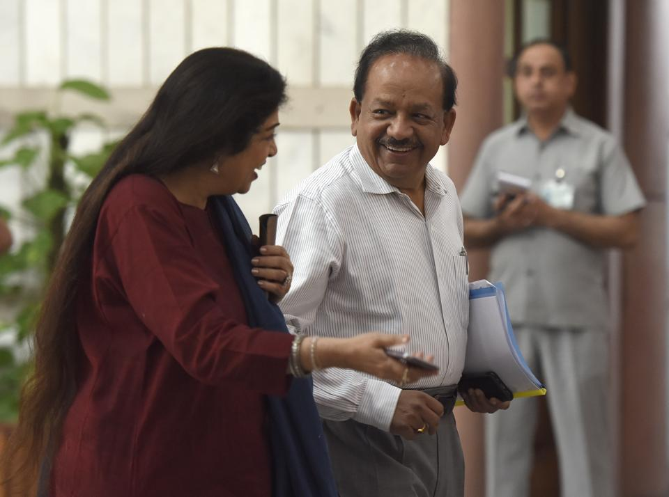 The Intellectual Property Exchange will be developed under Harsh Vardhan's science and technology ministry through the National Research Development Corporation