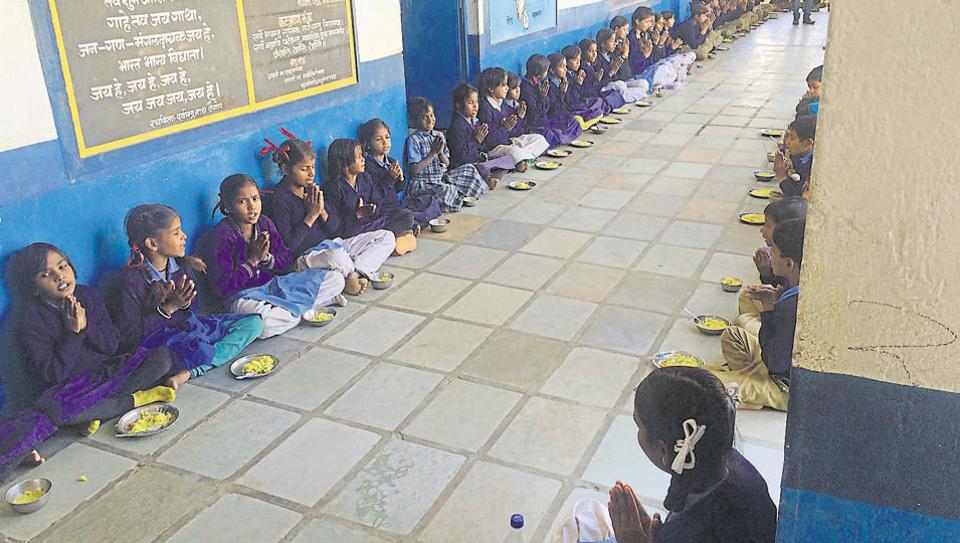 The union government had earlier this year made Aadhaar cards mandatory for midday meals.