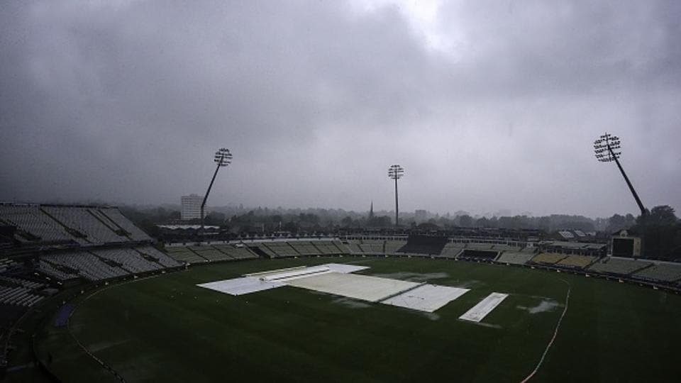 Australia - New Zealand shared a point each as rain played spoilsport in the second game of the ICC Champions Trophy at Edgbaston. Catch full cricket score of Australia vs New Zealand here