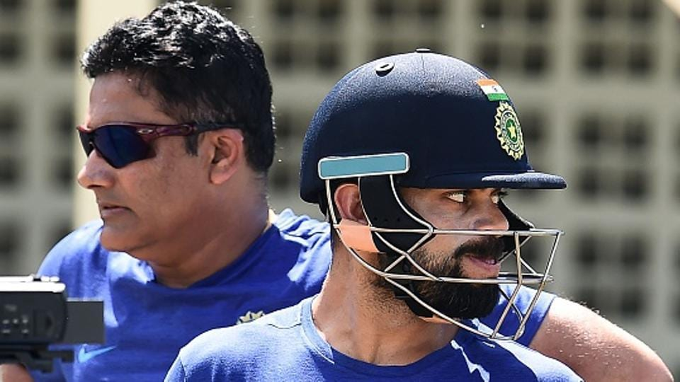 India captain Virat Kohli has 'no problems' with coach Kumble