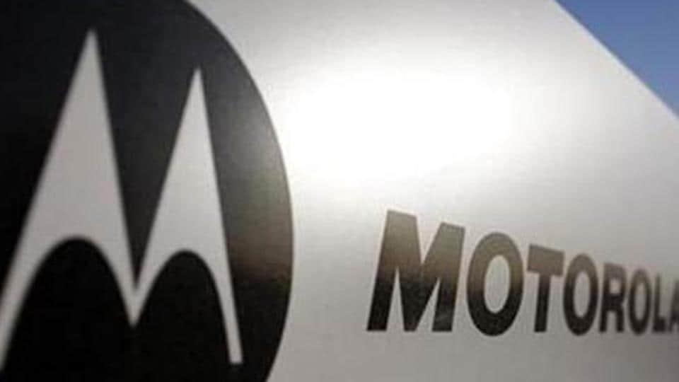 Motorola logo displayed outside a store.