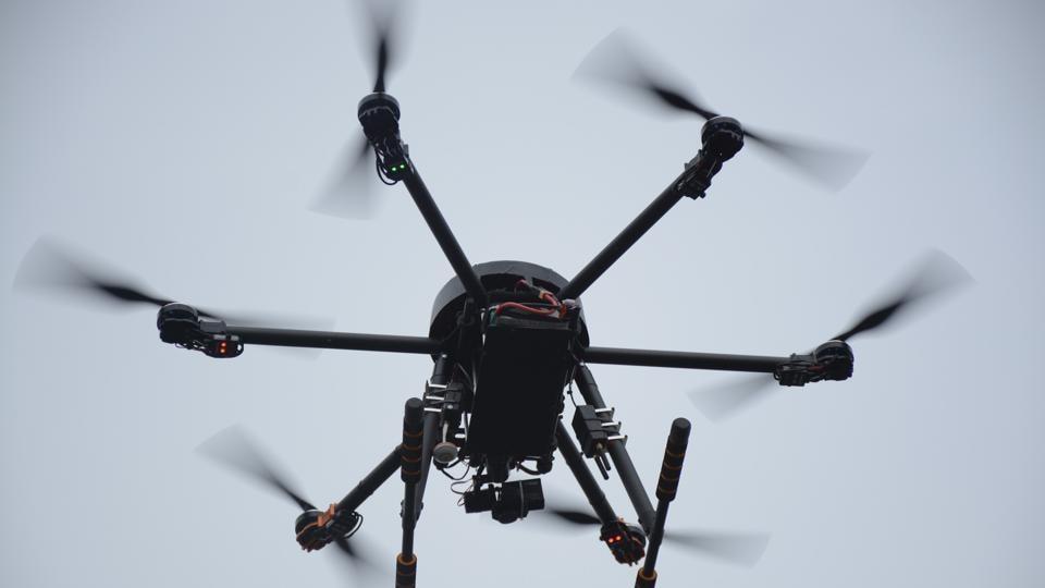 Haryana government,drones,aerial survey