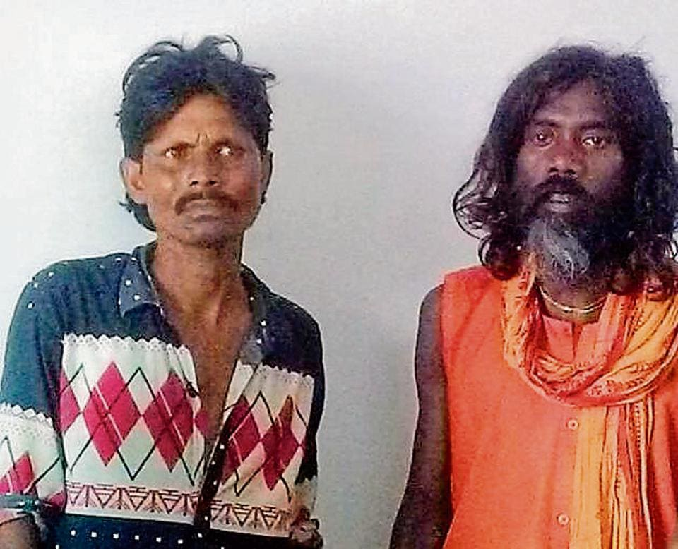 Tantrik Karmu Kalindi and Bhadohi Kalindi arrested after a six-month-old baby was sacrificed. The child went missing in the intervening night of May 25-26 from Choura village under Tiruldih police station.