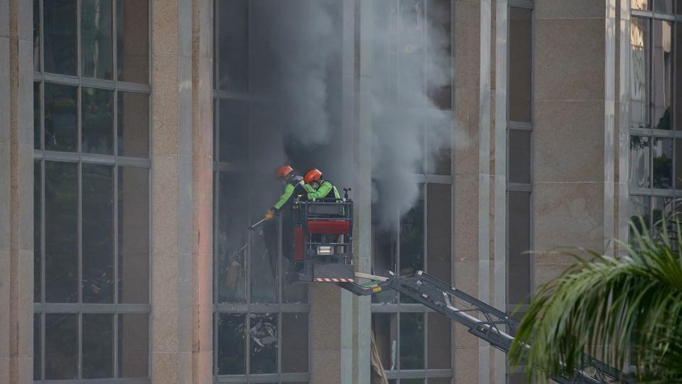 Manila fire,Donald Trump,Paris climate deal