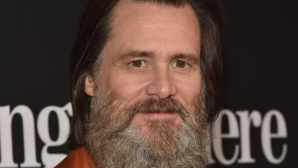 Jim Carrey attends the premiere of Showtime's I'm Dying Up Here at the DGA Theatre in Los Angeles, California.