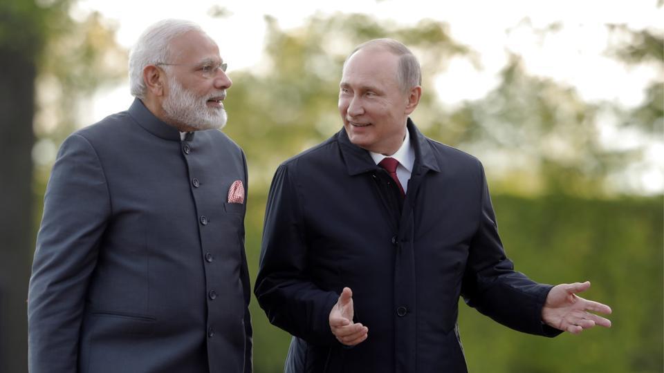 India and Russia,Vladimir Putin,Narendra Modi
