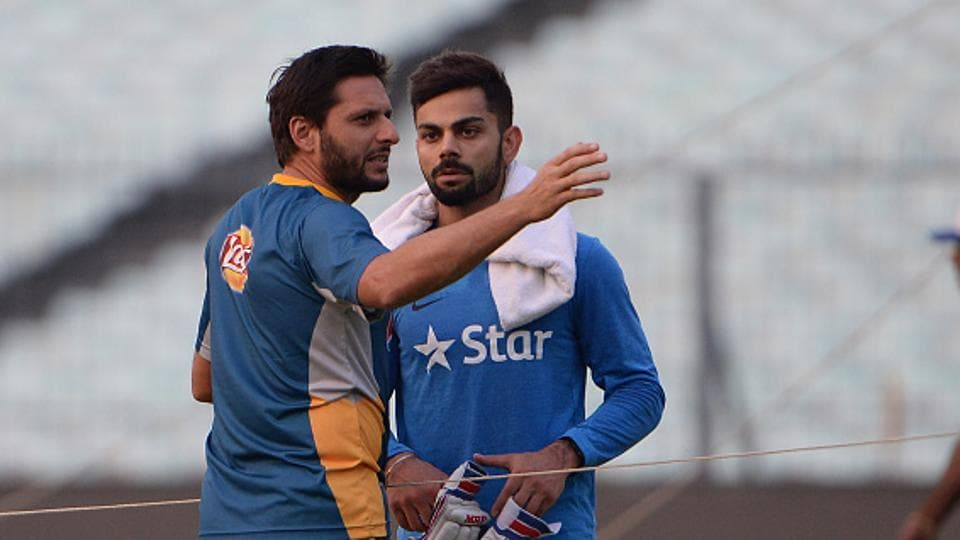 Shahid Afridi writes in his column that getting Virat Kohli would be key for Pakistan cricket team in their ICCChampions Trophy opener vs Indian cricket team on Sunday. He feels the Pakistan bowlers should attack right from the word go against Kohli, not allowing him to settle down.