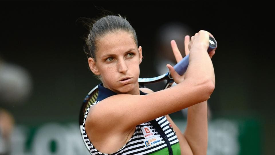 Czech Republic's Karolina Pliskova had a see-saw battle against Russia's Ekaterina Alexandrova, but defeated the latter in three sets. (AFP)