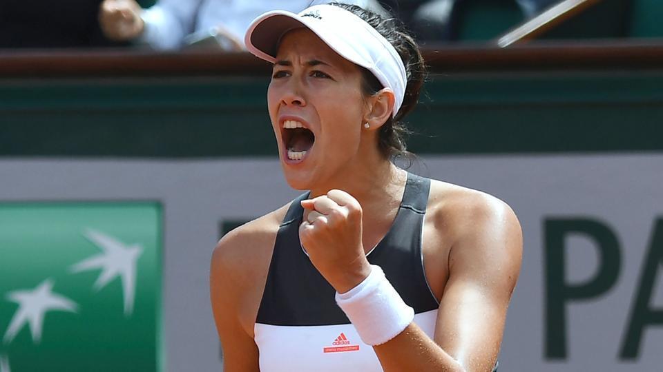 French Open,Garbine Muguruza,Kristina Mladenovic