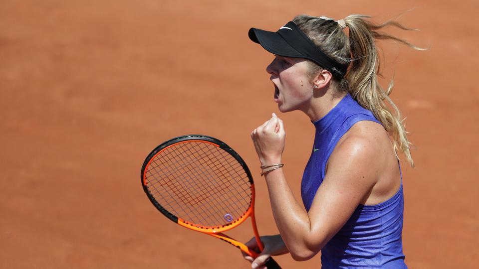 Ukraine's Elina Svitolina defeated Bulgaria's Tsvetana Pironkova in a tight three-setter. (AFP)