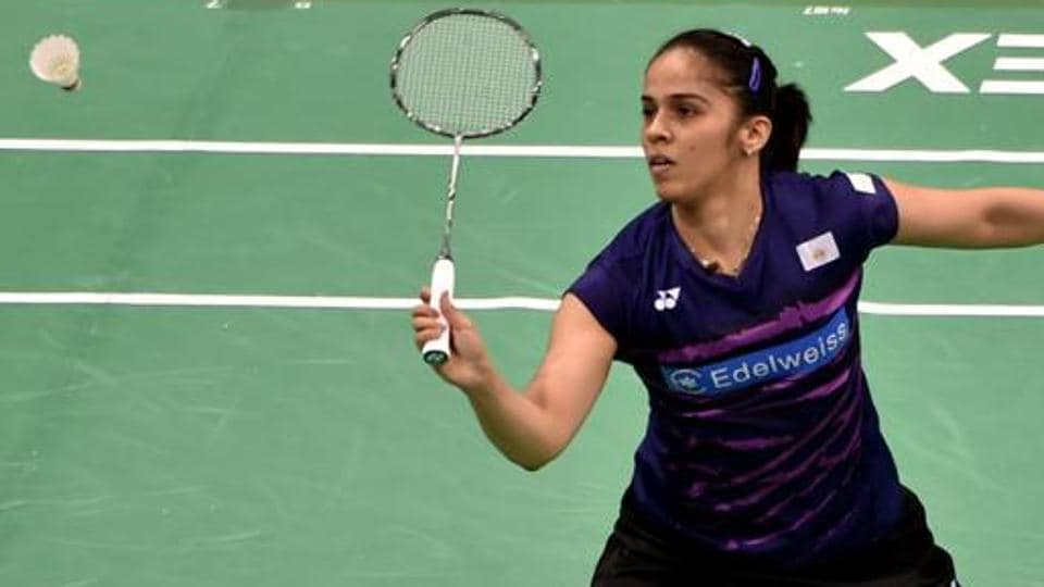 India's Saina Nehwal has progressed to the women's singles semifinals at the Thailand Open Grand Prix Gold on Friday.