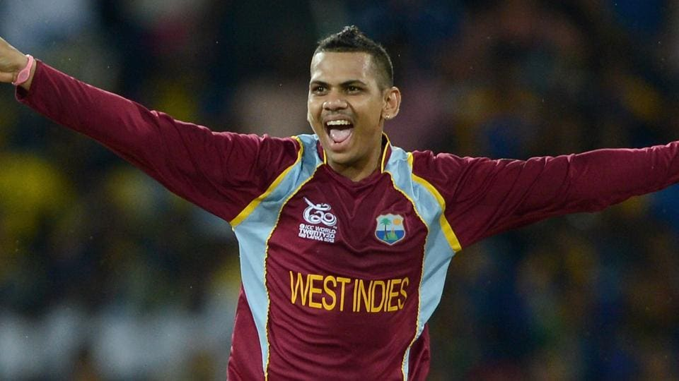 Sunil Narine picked up 3/11 as West Indies defeated Afghanistan by six wickets in the first Twenty20 International.