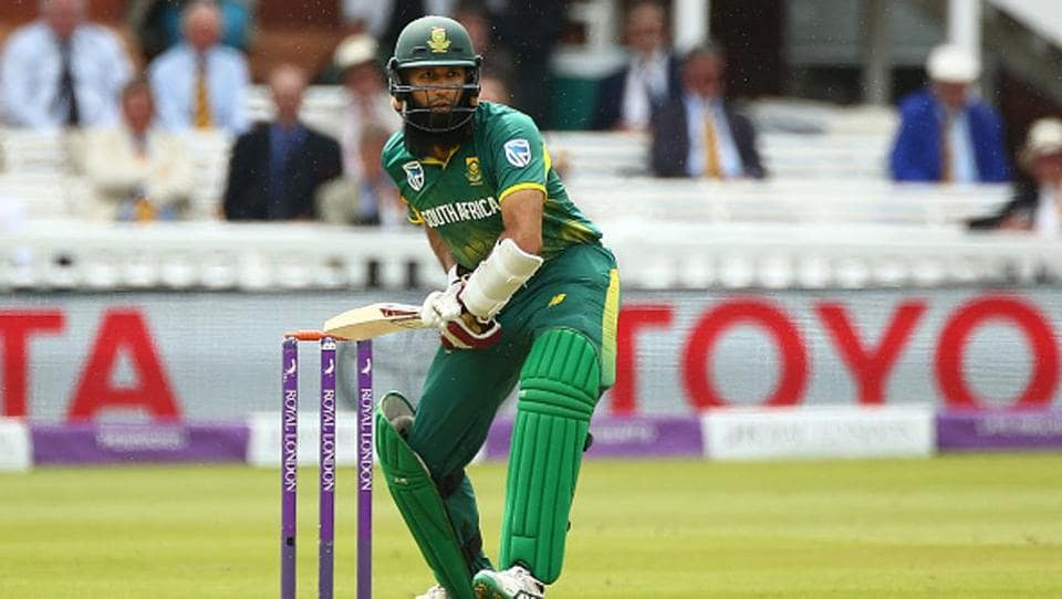 Amla and Faf du Plessis then scored at a good pace and brought up their half-centuries.  (Getty Images)