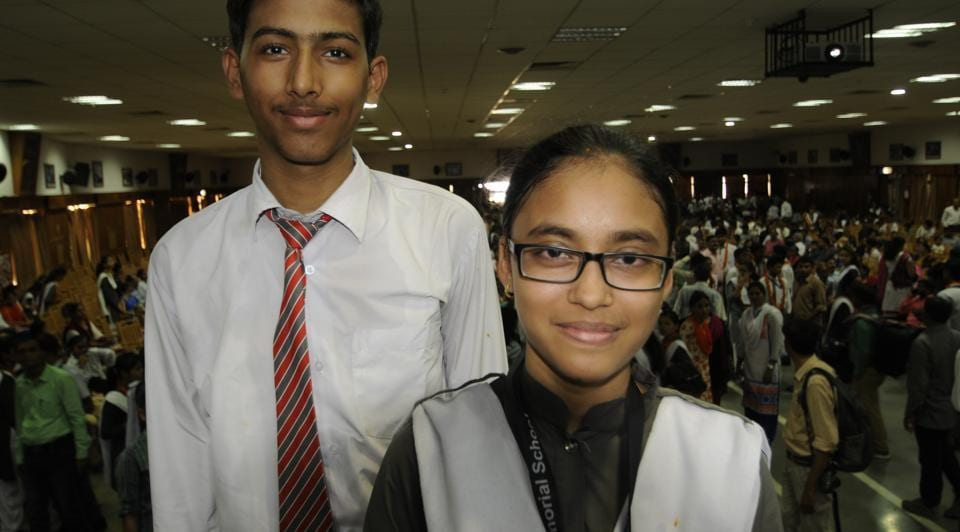 Lucknow's Devanshu Tiwari and Aparna Singh were on cloud nine on Saturday after scoring a CGPA of 10 in the CBSE Class 10 board examinations.