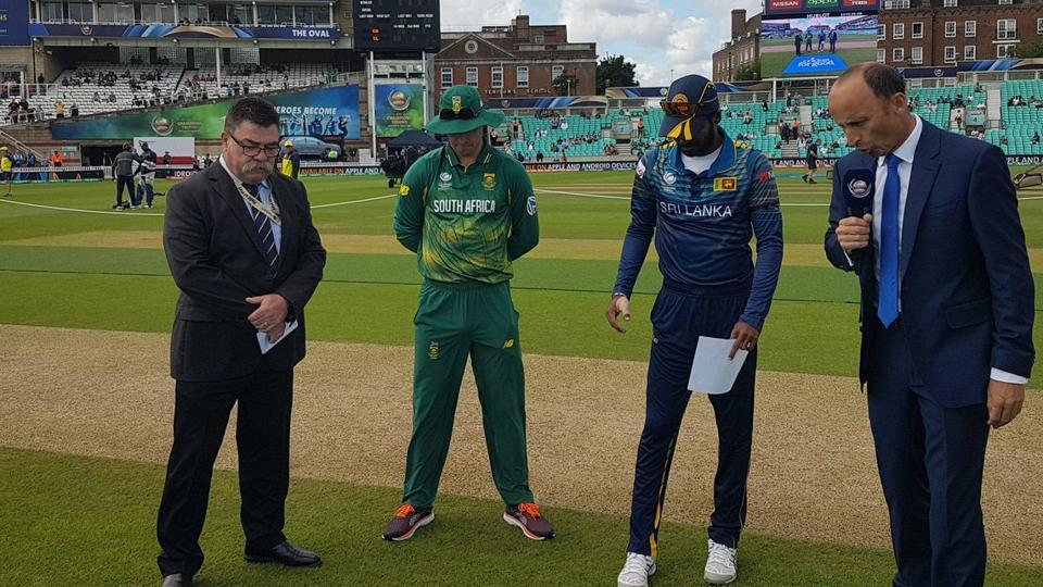 Upul Tharanga, Sri Lanka captain, won the toss and opted to field.  (Twitter)