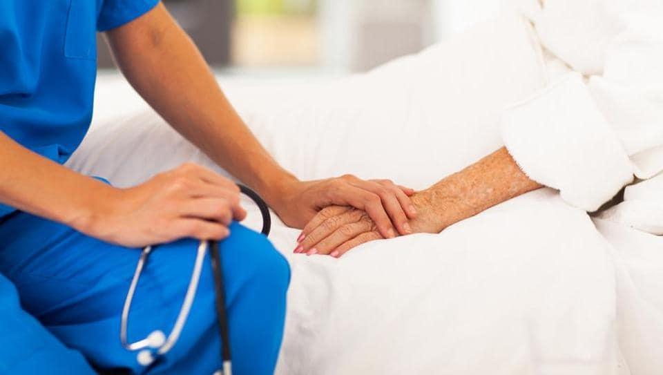 Hospitalized patients,Depression symptoms,Feeling let down