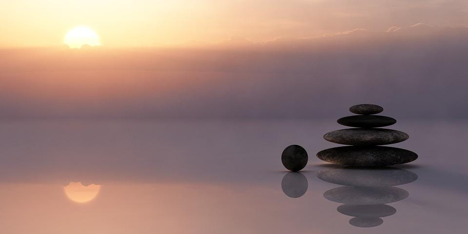 Inner peace - that really would appear to be the answer.