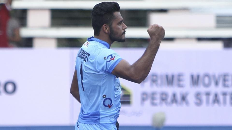 Harmanpreet Singh scored a goal for India but the team conceded two late goals as India lost to Belgium 1-2 in the three-nation hockey tournament in Dusseldorf.