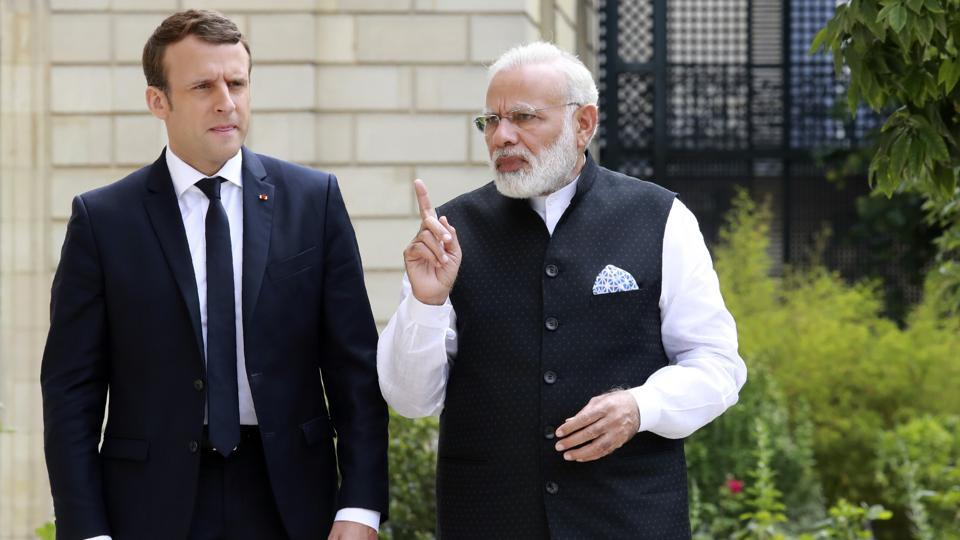 Narendra Modi,Donald Trump,Emmanuel Macron