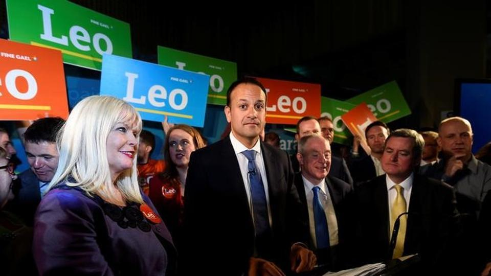 Ireland's Minister for Social Protection Leo Varadkar launches his campaign bid for Fine Gael party leader in Dublin.
