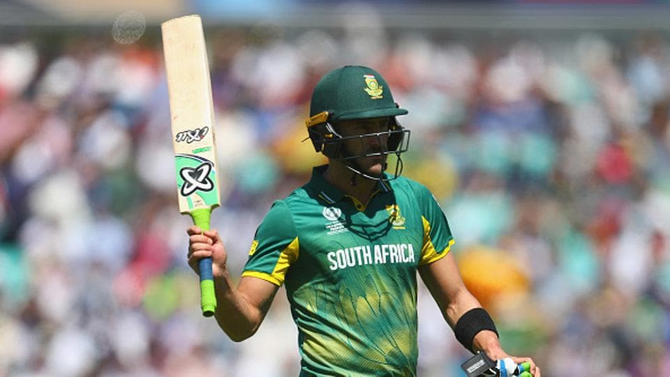 Du Plessis hit 75 off 70 balls before becoming Pradeep's second victim.   (Getty Images)