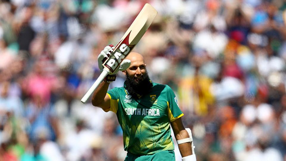Amla continued to pile on runs and in process became the first South African to slam 25 ODI centuries. JP Duminy played a quickfire knock towards the end as the Proteas scored 299/6.  (Getty Images)