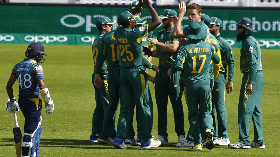South Africa defeated Sri Lanka by 96 runs in Group B of the ICC Champions Trophy 2017 at The Oval in London on Saturday. Catch full cricket score of Sri Lanka vs South Africa here.