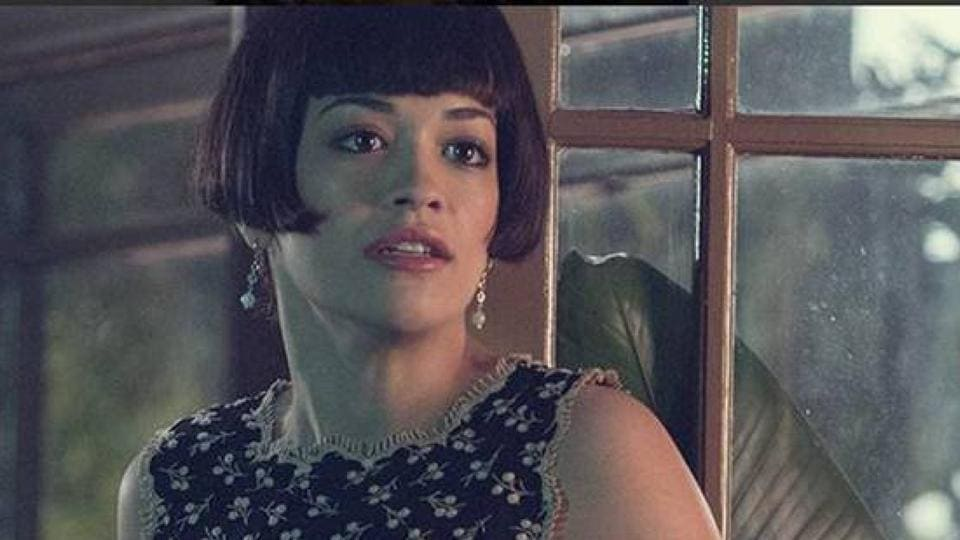 Rita Ora plays Christian Grey's sister in the Fifty Shades movies.