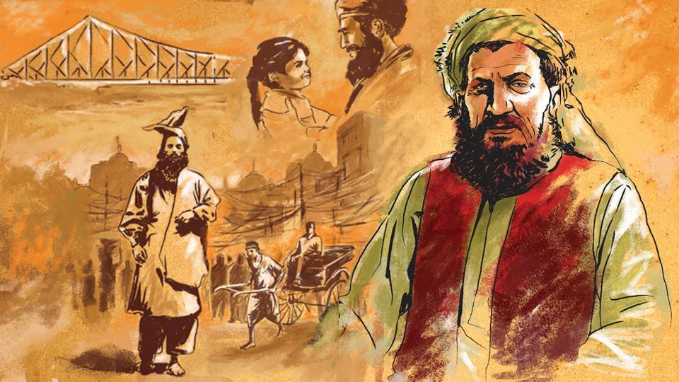 Rabindranath Tagore,Kabuliwala,Afghan traders