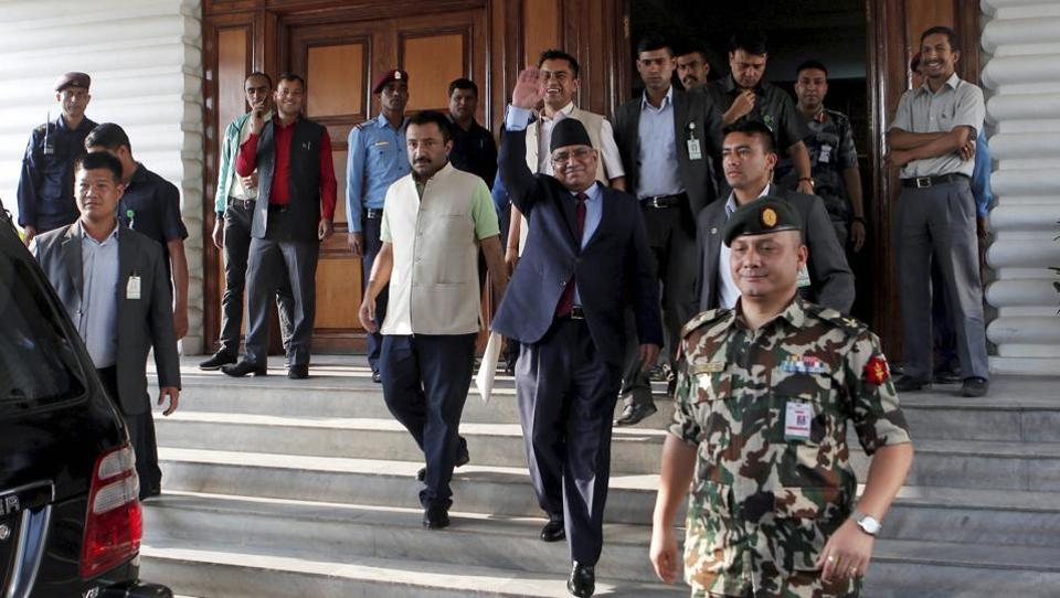Nepal prime miniser election,CPN-UML,Pushpa Kamal Dahal Prachanda