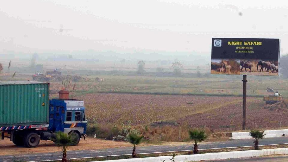 India's first and world's fourth night safari project was to be developed on 250 acres adjoining the Gautam Budh University (GBU) campus on the Yamuna Expressway.