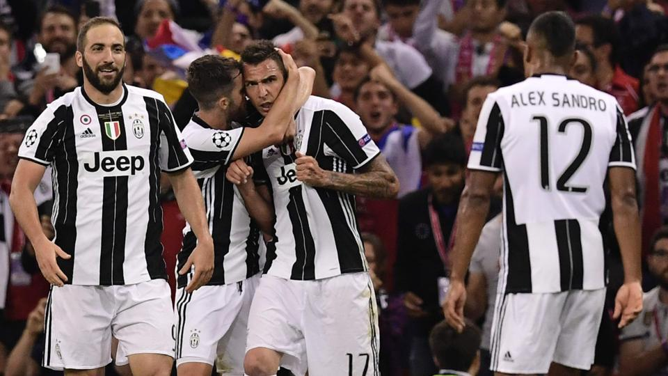 Real's joy was short-lived as Mario Mandzukic scored from a superb overhead kick to level the proceedings. (AFP)