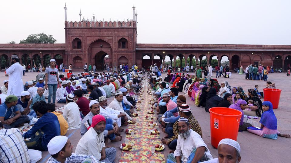 For some families, iftar in Jama Masjid is a picnic of sorts. For some, it is a ritual, while others just happen to be there