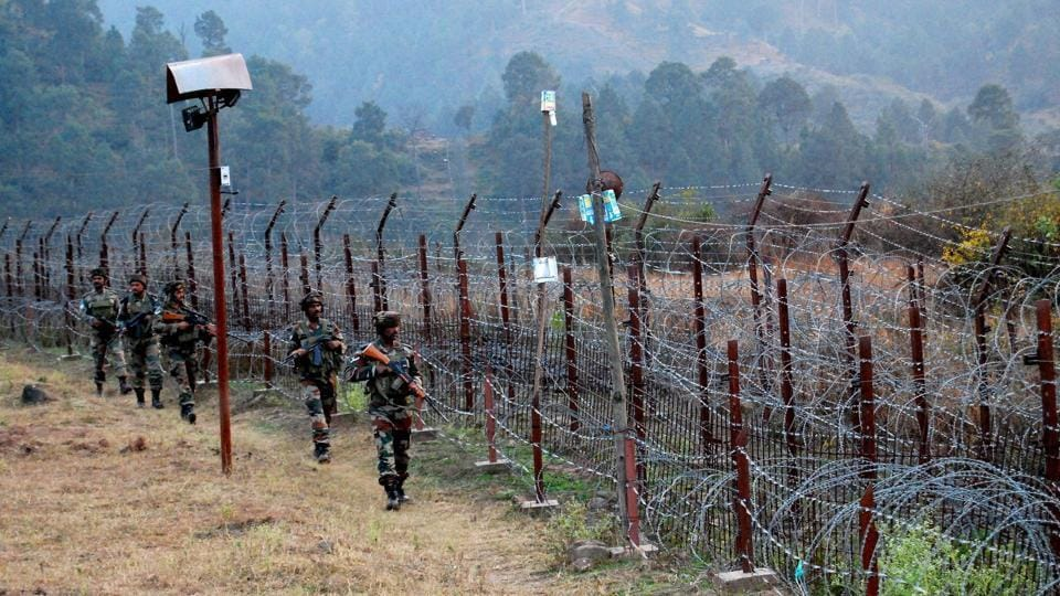 Representative picture.  Indian Army Soldiers stand guard near the Line of Control (LoC) in Poonch on Thursday, June 3, 2017.