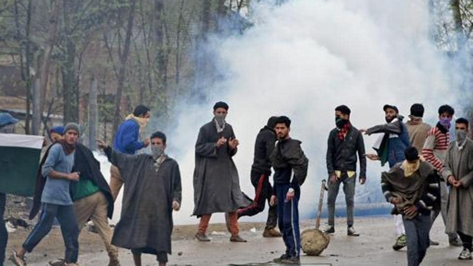 BJP chief Amit Shah had said the Centre is formulating a course of action to resolve the situation in Kashmir.