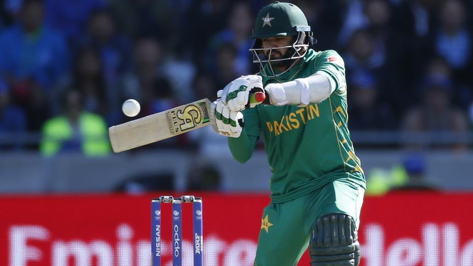Azhar Ali of Pakistan cricket team during his half century knock against Indian cricket team in their ICCChampions Trophy match at Edgbaston on Sunday.