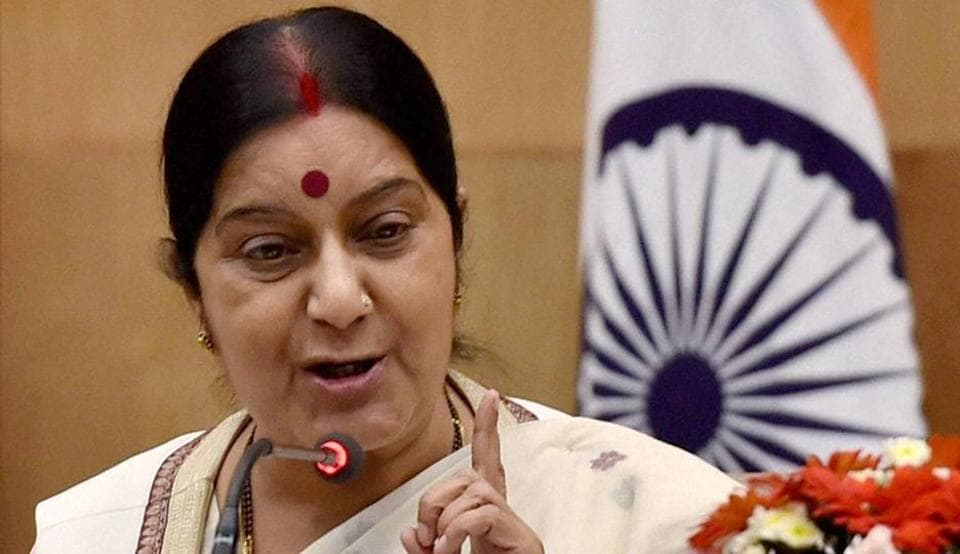 Sushma Swaraj onSunday assured a Pakistani man medical visa for his father provided the case was recommended by the country's adviser on foreign affairs Sartaj Aziz.