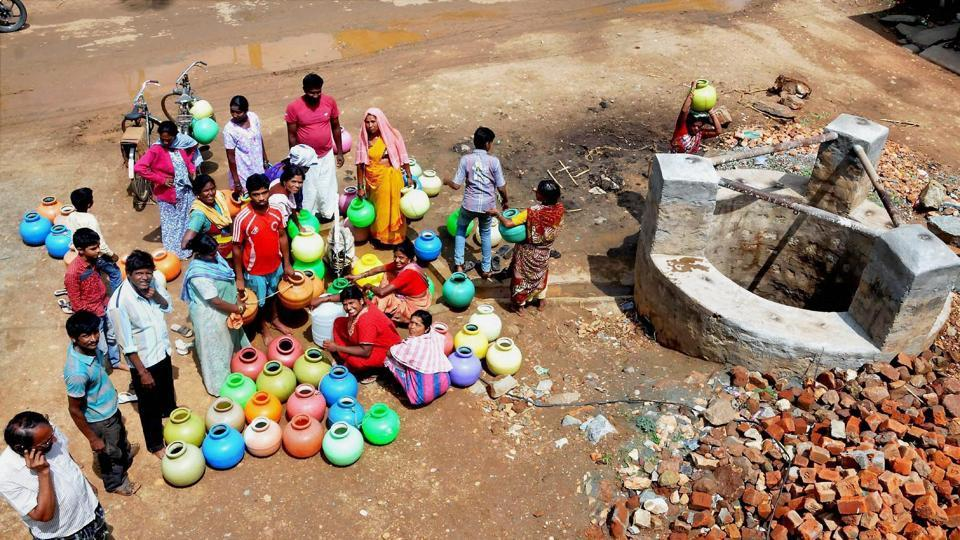 Image result for water crisis in india