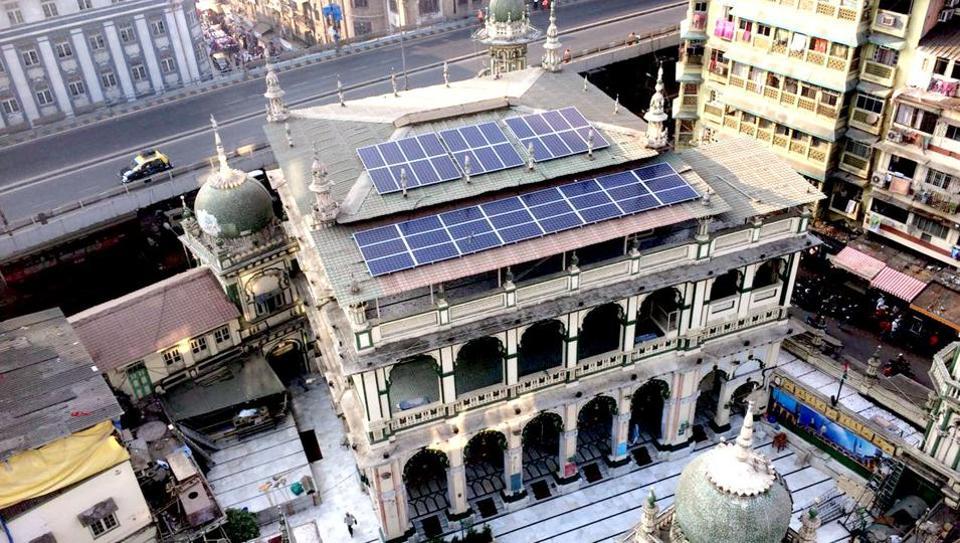 46 solar power panels were installed at the Minara Masjid in January.